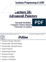 Advanced Pointers in C