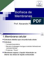 8 Biofisica das membranas