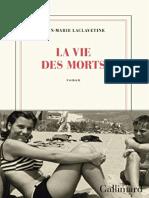 19 Jean-Marie Laclavetine -La vie des morts