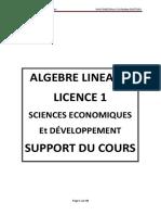 Support Du Cours d'Algebre (Version Etudiants)