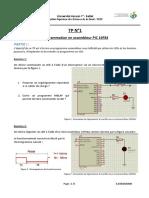 TP1 Programmation en assembleur PIC 16F84