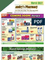 Landry's Pharmacy - March 2011 On Sale Flyer