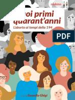 I Primi Quarantanni Della Legge 194-eBook