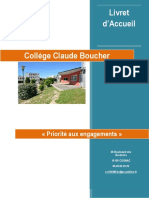 Livret d Accueil Rentree 2020
