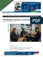 Colsubsidio le apuesta a la diversidad e inclusión - Contenido Patrocinado - ELTIEMPO.COM