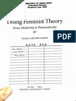 Archer.doingfeministtheory