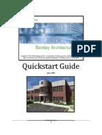 BentleyArchitectureQuickStart_v8i