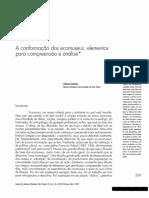 MEST ART PBH 1 A conformação dos ecomuseus, elementos para a compreensão e analise