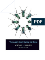 Michael C. Whitlock and Dolph Schluter - The Analysis of Biological Data (2015, W. H. Freeman and Company) - Libgen.lc