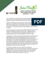 BIOARMONIZADOR ATEE AS  - Salud Natural