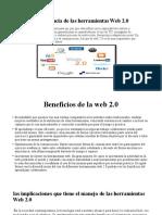 Importancia de Las Herramientas Web 2