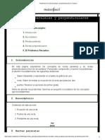 Problemas de Rectas Paralelas y Perpendiculares (en El Plano)