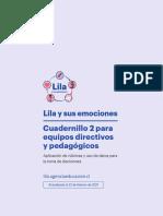 Cuadernillo 2 equipos directivos y pedagógicos