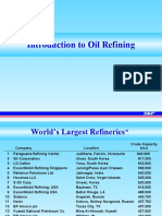 Introduction To Oil Refining