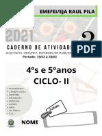 Arthur Andre Marques Dos Santos - 5A Caderno 3