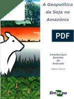 Ageopolitica da soja na Amazonia