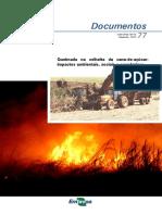 Queimada na colheita da cana-de-açucar- impactos ambientais, socieias e econômicos