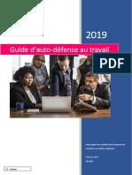 Guide d'auto-défense au travail sept 2019