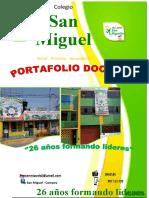 PORTAFOLIO DOCENTE - POLIDOCENCIA