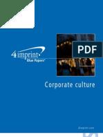 Corporate Culture Blue Paper