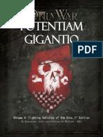 Potentiam Gigantio Volume 4