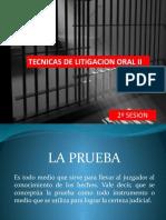 LITIGACION ORAL II. 2 SESION