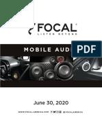 2020 Focal
