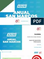 Anual San Marcos - Álgebra Semana 02