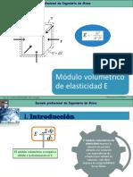 Cl.5-2.  Módulo volumétrico de elasticidad