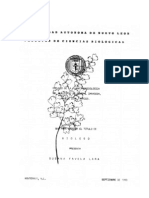 Estudio de La Flora Pteridologica del Municipio de General Zaragoza, NL Mex
