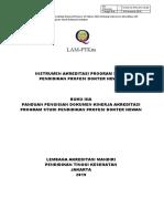Buku 3A-Panduan Pengisian Dokumen Kinerja Akreditasi-Pend Profesi Dokter Hewan