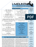 Volume 11, Issue 4, February 27, 2011