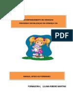 Processo socialização criança