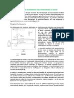 ESPECTROSCOPIA DE INFRARROJOS POR LA TRANSFORMADA DE FOURIER