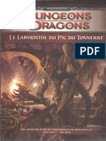 D&D4 - Le Labyrinthe Du Pic Du Tonnerre (Lvl 4-6)