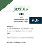 Parashat Pequdei # 23 Inf 6011