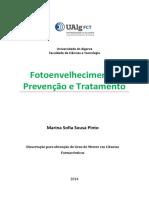 protocolo para fotoenvelhecimento