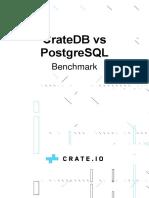 CrateDB vs PostgreSQL - benchmark