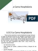 U.D.3 La cama Hospitalaria