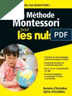 La Méthode Montessori pour les Nuls