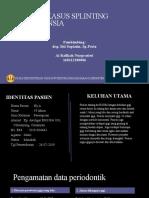 Diskusi Kasus Splinting Periodonsia Ai Rafikah -160112180086