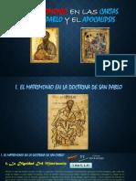 Presentación_El Matrimonio en el NT. Cartas Paulinas y el Apocalipsis_Dehivis Márquez