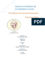 Informe sobre Desarrollo Físico-Corporal. Nutricion (Anatomia General)