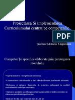 """Curriculum centrat pe competenţe"""