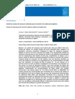 Intérêt Des Courbes de Croissance Nationales Pour Les Enfants Et Adolescents Algériens