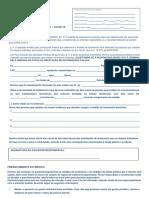 Termo Para Isolamento Domiciliar-Atestado Médico - COVID-19