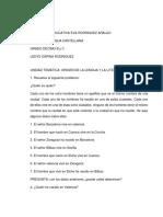 Trabajo de Español Grado 10 Jade Martinez