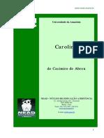 Casimiro de Abreu - Carolina