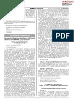 Resolucion Ministerial economia y finanzas