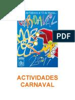 Actividades Carnaval